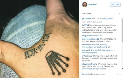 hand johnny tattoo johnny manziel gets lame tattoo on his hand houston