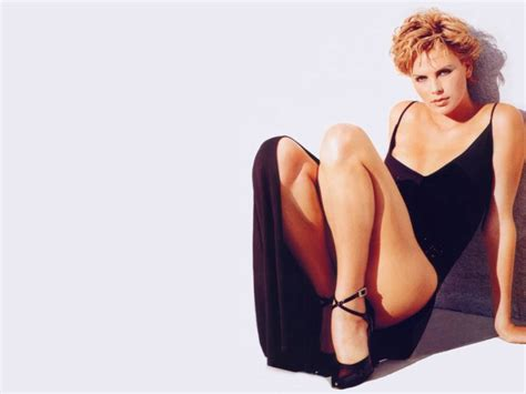 Charlize Theron Pretends To Model by Model Charlize Theron Wallpapers 6658