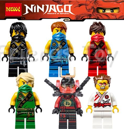 Figurin Murah Figure Karakter Set 5 buy wholesale lego ninjago minifigures from china lego ninjago minifigures wholesalers