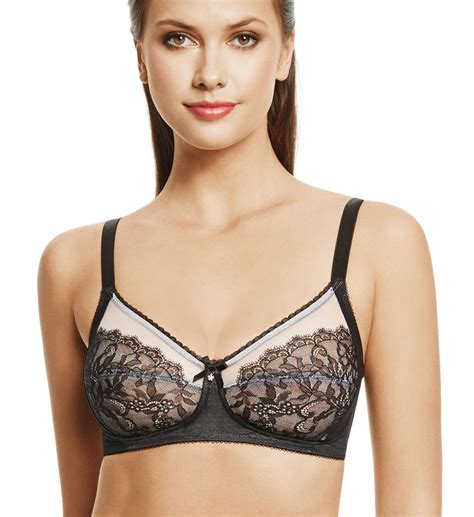 Set Wireless Panel Bra wacoal retro chic wire free bra 852186 wacoal bras