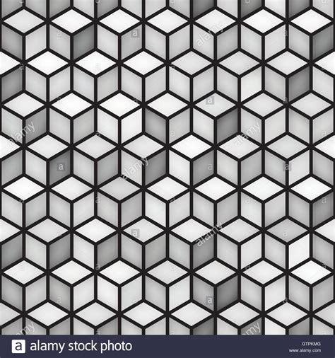 pattern for a cube shape vector seamless cube shape rhombus grid geometric pattern