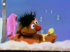 Duck Bathtub For Babies Ernie Muppet Wiki Fandom Powered By Wikia