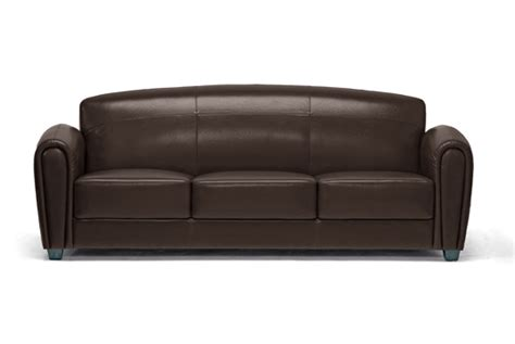 Leather Sofa Ta Modern Brown Leather Sofa Bastian Aniline Leather Sofa By Inspire Q Modern Free Shipping Thesofa