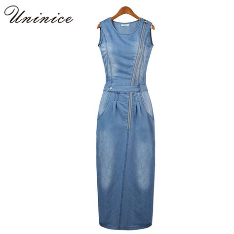 Denim And A Dress Tried And Tested For Winter And by 2017 New Arrival Summer Style Fashion Denim Dress