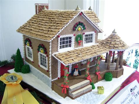 All Sizes Gingerbread House With Big Porch