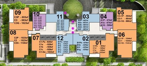 Coco Palms Floor Plan by Alex Residences Condo Newsgproperty Sg