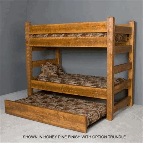 Barnwood Bunk Bed Viking Timberwood Barnwood Bunk Bed