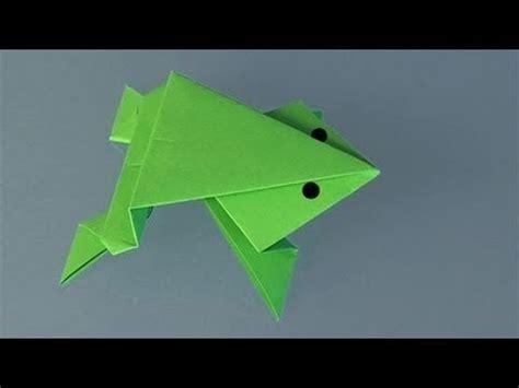 Rana Origami - origami rana saltarina