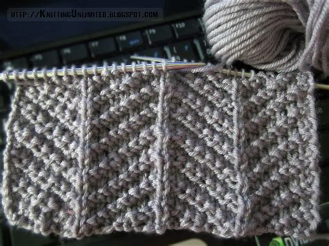 make one knit stitch patterns using knit purl combinations knitting