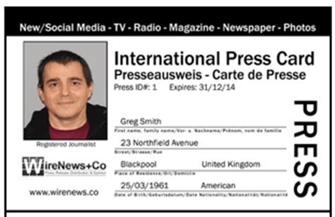 How To Get International Press Roll Up Roll Up Buy Your Press Card Here Richard