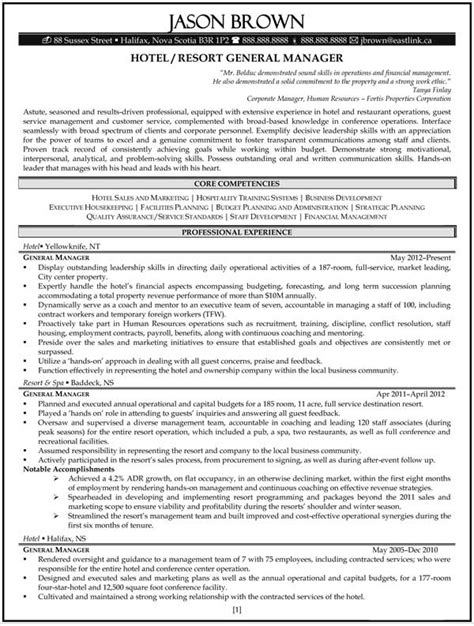 general manager resume templates hotel general manager resume template no2powerblasts