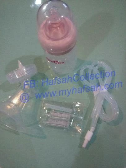 Spectra Sparepart Breast Shield Set Size Xs With Bottle spectra breastshield set hafsahcollection s store