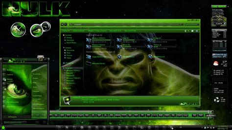 free emo themes download for windows 7 windows 7 themes the hulk by thebull1 on deviantart