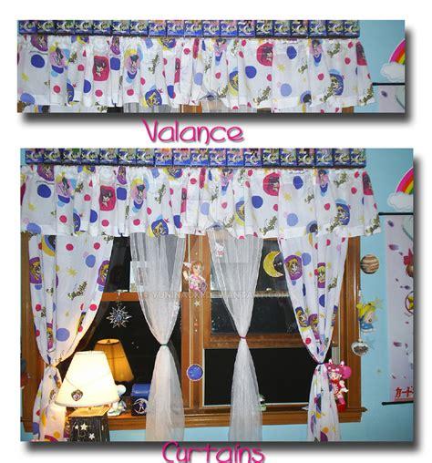 Sailor Moon Curtains Valance By Magical Mama On Deviantart