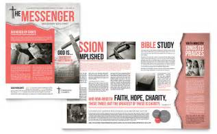bible church newsletter template word amp publisher