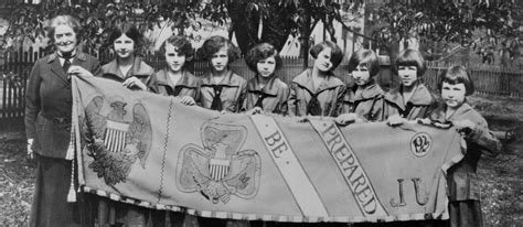 girls scouts of the usa girls scouts of northeast texas world our history girl scouts