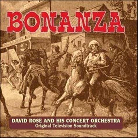 theme music bonanza bonanza soundtrack details soundtrackcollector com