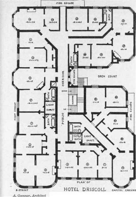floor plan of a hotel hotel building plans group picture image by tag