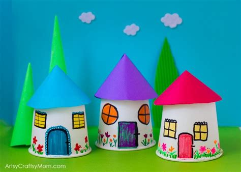 And Craft Using Paper Cups - paper cup miniature craft artsy craftsy