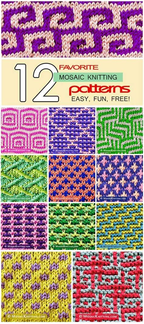 mosaic knitting tutorial 104 best mosaic knitting images on knitting