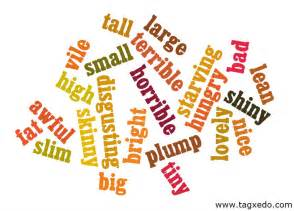 adjectives our s grammar class