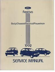 1992 ford festiva repair manual