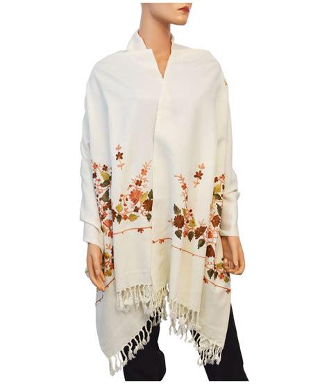 Pashmina Murah Mavis Floral 3 floral motif wool shawl general category