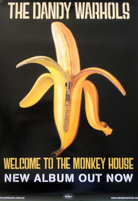 welcome to the monkey dandy warhols the welcome to the monkey house posters regular sizes rare records