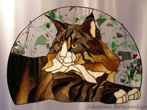 stained glass cat l 17 best images about gorgeous pussycats on pinterest
