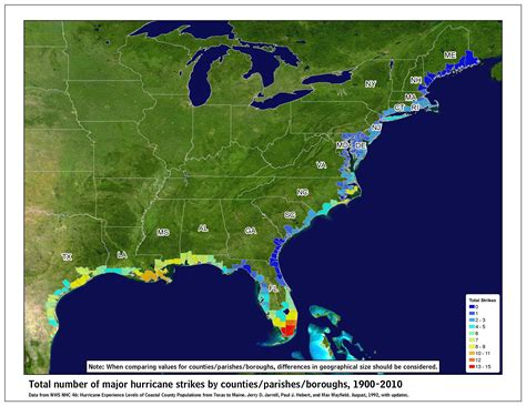 us hurricane history map tropical cyclone climatology
