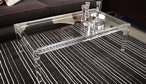 Ideas For Lucite Coffee Table Design Acrylic Coffee Tables Showcase For Your Interior Design