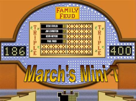 Family Feud Powerpoint Template Classroom Game This Family Fued Power Point