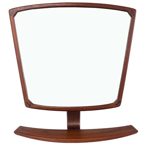 mid century modern mirrors danish mid century modern adjustable wall mirror with
