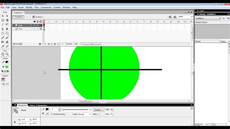cara membuat video animasi dengan macromedia flash cara membuat animasi bola menggelinding dengan macromedia