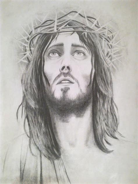 Imagenes A Lapiz Del Rostro De Jesus | retratos realistas de jesucristo arte taringa