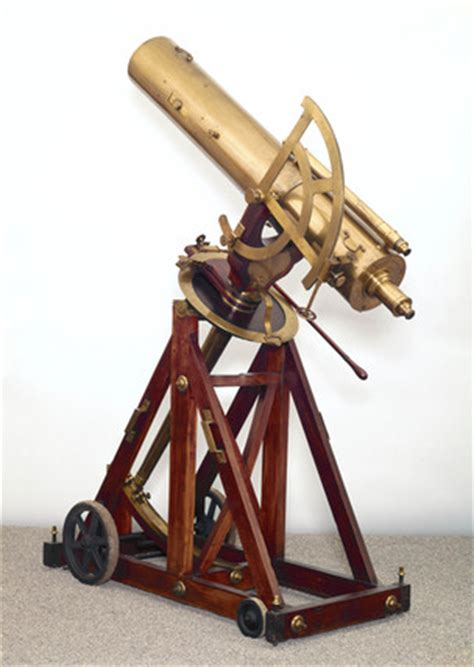 portable reflecting telescope    science  society picture library