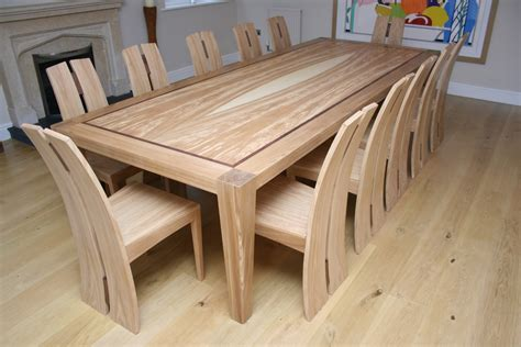 12 seater oak dining table bespoke 12 seater dining table