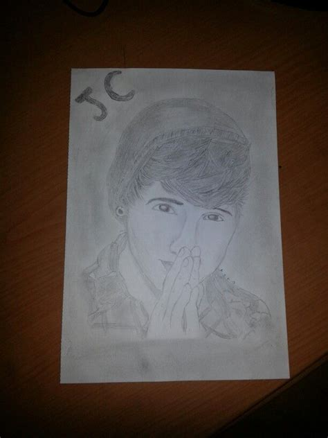 drawing of one of my drawing of jc caylen youtuber my drawings