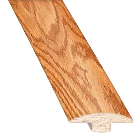 Hardwood Floor Molding Threshold Oak Wood Molding Trim Wood Flooring The Home Depot
