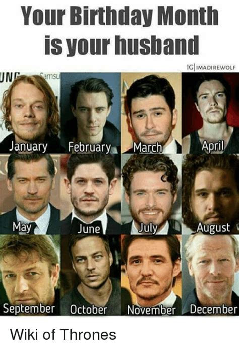 March Birthday Memes - your birthday month is your husband ig imadirewolf ung
