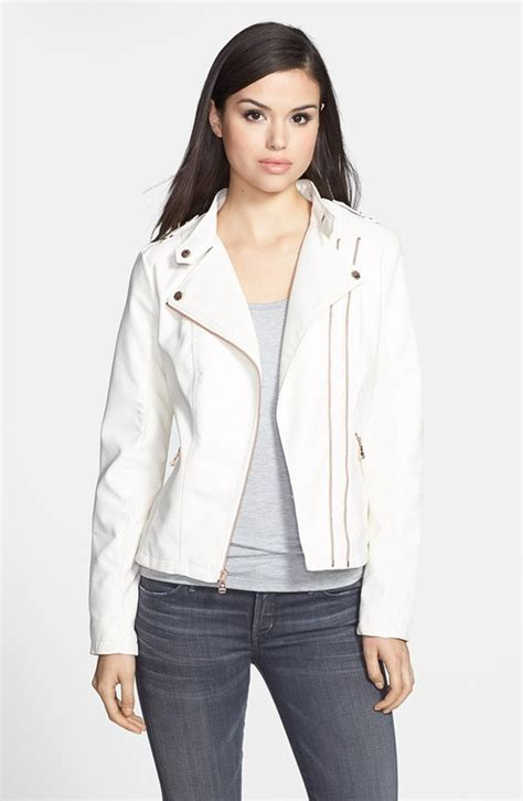 Guess Laila W0734l1 Baby Blue Original guess faux leather moto jacket where to buy how to wear