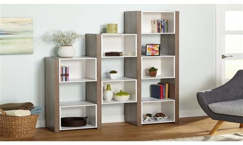 living room bookcase modern half wall dividers bookshelf