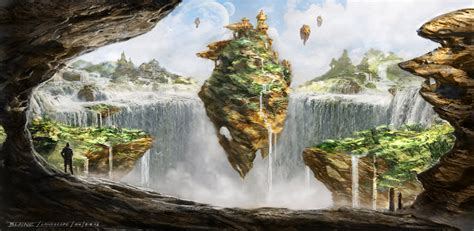 Samples Draw My House the art of patrick blaine concept art fantasy landscapes