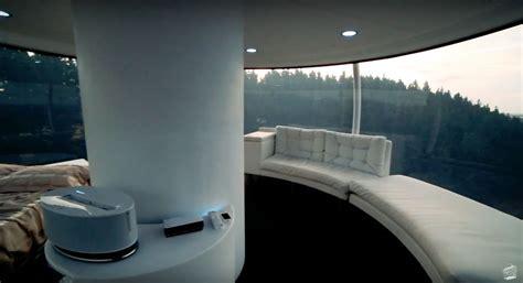 skysphere incredible high tech futuristic retreat