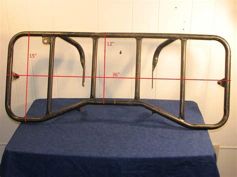 Bumper Luggage Rack by Honda Trx250 Rear Rack And Bumper Luggage Rack