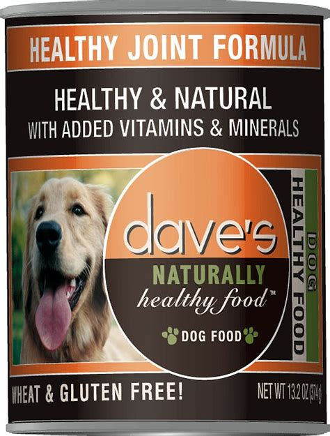 dave s food dave s pet food naturally healthy joint formula canned food 13 oz of 12