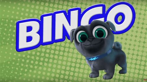 puppy pals bingo bingo pug what do we about the character puppy pals