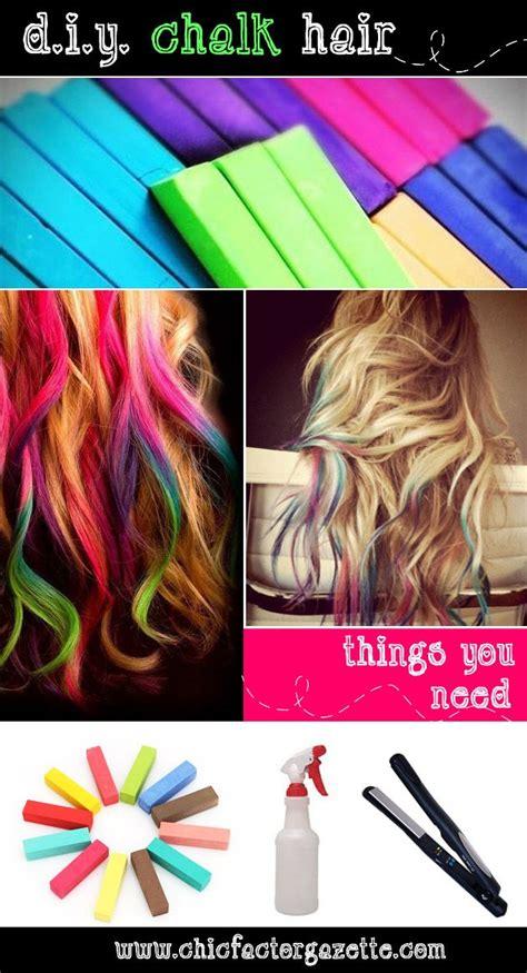 hair chalking a new look at diy hair color stylenoted hair chalk picmia