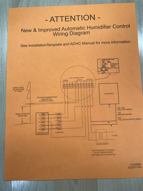 aprilaire 500 humidifier wiring diagram wiring diagram