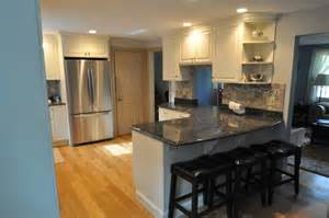 holiday kitchens split ranch makeover painted cabinets kitchen cabinet and kitchen design ideas